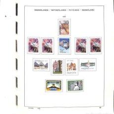 Sellos: HOLANDA, 1975 - 1997 COLECCIÓN DE SELLOS, HOJAS BLOQUE , CARNÉS, EN USADO, . Lote 135735759