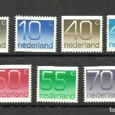 Sellos: HOLANDA, 1976/82, NUMBERS, MNH**. Lote 136347866