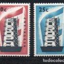 Sellos: HOLANDA AÑO 1956 YV 659/0*** EUROPA . Lote 142443558