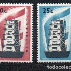 Sellos: PAISES BAJOS HOLANDA AÑO 1956 YV 659/0*** EUROPA. Lote 142443710
