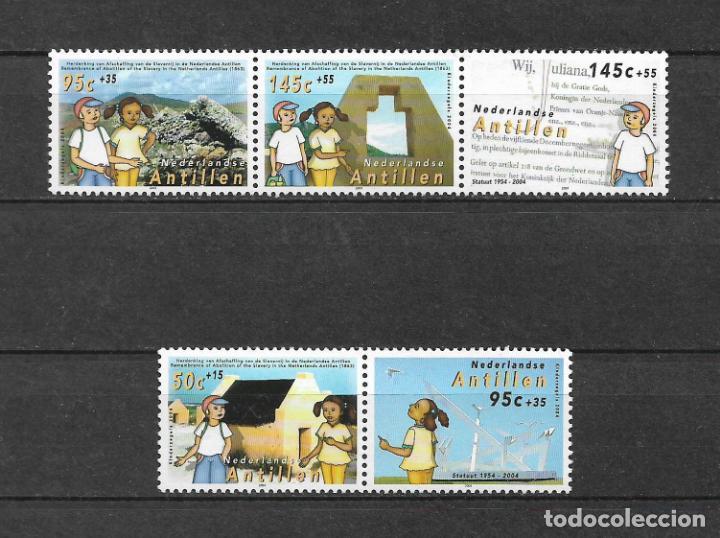 NETHERLANDS ANTILLES 2004 MNH AUTONOMY OF THE NETHERLANDS ANTILLES, 50TH - 1/1 (Sellos - Extranjero - Europa - Holanda)