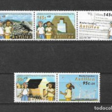 Sellos: NETHERLANDS ANTILLES 2004 MNH AUTONOMY OF THE NETHERLANDS ANTILLES, 50TH - 1/1. Lote 142960150