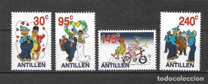 NETHERLANDS ANTILLES 2002 MNH FEDJAI THE POSTAL WORKER - 1/1 (Sellos - Extranjero - Europa - Holanda)