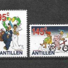 Sellos: NETHERLANDS ANTILLES 2002 MNH FEDJAI THE POSTAL WORKER - 1/1. Lote 142960334