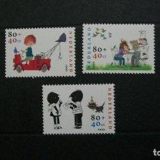 Sellos - Holanda-1999-Y&T 1723/5**(MNH) - 145644378