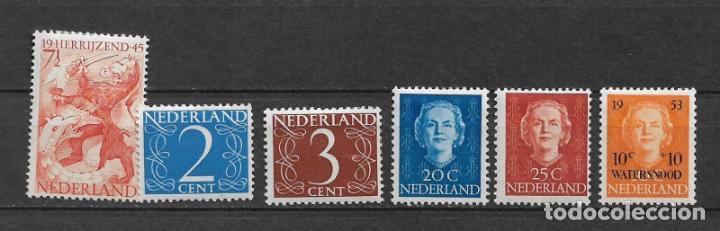 HOLANDA LOTE SELLOS * NUEVOS - 2/58 (Sellos - Extranjero - Europa - Holanda)