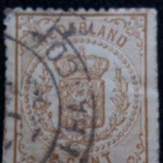 Sellos: SELLO HOLANDA, NEDERLAND 2,1/2 CENT, AÑO 1890.. Lote 157465974