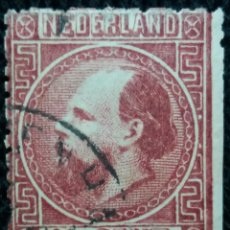 Sellos: SELLOS HOLANDA, NEDERLAND, 10 CENT, REY WILLIAM III, AÑO 1878.. Lote 158154162