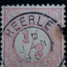 Sellos: SELLOS HOLANDA, NEDERLAND, 1,1/2 CENT, AÑOS, 1876. Lote 158594682
