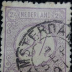 Sellos: SELLOS HOLANDA, NEDERLAND, 2,1/2 CENT, AÑOS, 1876. Lote 158594858