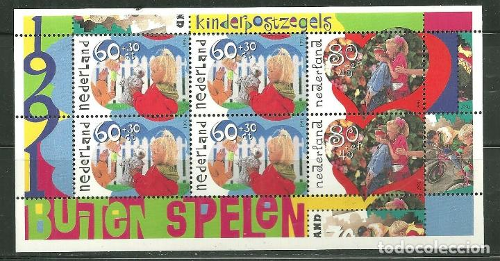 HOLANDA 1991 HB IVERT 35 *** PRO INFANCIA - JUGAR (Sellos - Extranjero - Europa - Holanda)