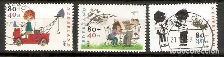 HOLANDA. 1999. YT 1723/1725 (Sellos - Extranjero - Europa - Holanda)