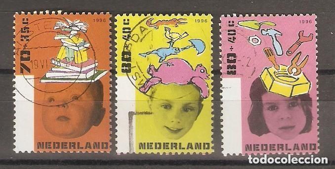 HOLANDA- PAÍSES BAJOS. 1996 YT Nº 1560/1562 (Sellos - Extranjero - Europa - Holanda)