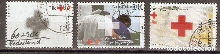 HOLANDA. 1992. YT 1410/1412 (Sellos - Extranjero - Europa - Holanda)