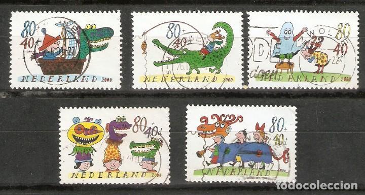 HOLANDA. 2000. YT 1798 A 1801 (Sellos - Extranjero - Europa - Holanda)