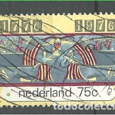 Sellos: YT 1047 HOLANDA 1976. Lote 167736309