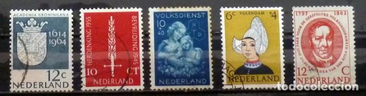 SELLOS HOLANDA - FOTO 184 - USADOS (Sellos - Extranjero - Europa - Holanda)