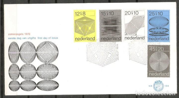 HOLANDA. 1970. FDC Nº 104 (Sellos - Extranjero - Europa - Holanda)