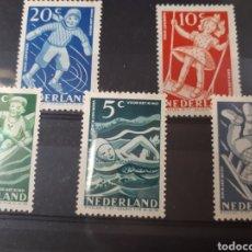 Sellos: SELLOS DE HOLANDA AÑO 1948 499/503 LOT.N.753. Lote 172032193