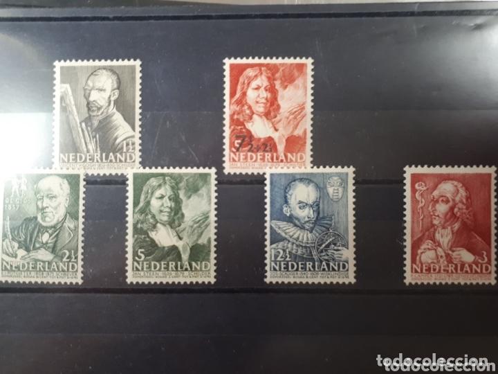 SELLOS DE HOLANDA AÑI 1940 351/356 LOT.N.793 (Sellos - Extranjero - Europa - Holanda)