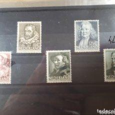 Sellos: SELLOS DE HOLANDA AÑO 1938 313/317 LOT.N.805. Lote 172182848