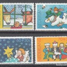 Timbres: HOLANDA,1983 YVERT Nº 1211 / 1214 /**/, NAVIDAD. Lote 174345865
