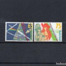 Sellos: HOLANDA 1988, YVERT 1315-16, MNH-SC. Lote 39112429