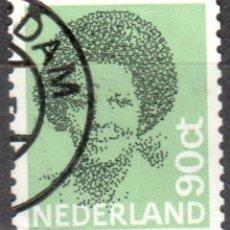 Sellos: HOLANDA - UN SELLO - IVERT:#NL-1169 - ***REINA BEATRIZ - (1938)¨¨*** - AÑO 1982 - USADO. Lote 176399700