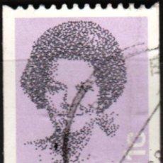 Sellos: HOLANDA - UN SELLO - IVERT:#NL-1266 - ***REINA BEATRIZ (1938)*** - AÑO 1986 - USADO. Lote 176402540