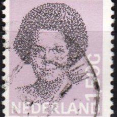 Sellos: HOLANDA - UN SELLO - IVERT:#NL-1266 - ***REINA BEATRIZ (1938)*** - AÑO 1986 - USADO. Lote 176402623