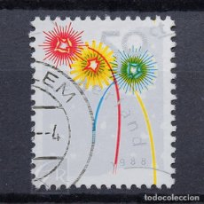 Sellos: HOLANDA 1988 ~ NAVIDAD ~ PAREJA HORIZONTAL USADA BUENO. Lote 128772995