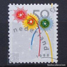 Sellos: HOLANDA 1988 ~ NAVIDAD ~ SELLO NUEVO MNH LUJO. Lote 176405109