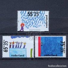 Sellos: HOLANDA 1988 ~ PRO INFANCIA: AGUA ~ SERIE NUEVA MNH BUENO. Lote 176405572