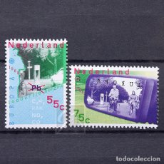 Sellos: HOLANDA 1988 ~ EUROPA ~ SERIE NUEVA MNH LUJO. Lote 176410077