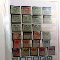 Sellos: HOLANDA:CLASIFICADOR CON 194 SELLOS USADOS Y NUEVOS DE DISTINTAS ÉPOCAS (DESCRIPCIÓN). Lote 176796825