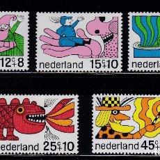 Sellos: HOLANDA 1968 BENEFICIENCIA PRO HUERFANOS NUEVOS ** (NMH) - LOTE - 86 - H6. Lote 179106871
