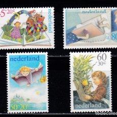 Sellos: HOLANDA 1980 BENEFICIENCIA PRO HUERFANOS NUEVOS ** (NMH) - LOTE - 86 - J2. Lote 179107533