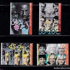 Sellos: HOLANDA 1981 BENEFICIENCIA PRO HUERFANOS NUEVOS ** (NMH) - LOTE - 86 - J3. Lote 179107711