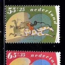 Sellos: HOLANDA 1990 BENEFICIENCIA PRO HUERFANOS NUEVOS ** (NMH) - LOTE - 86 - J7. Lote 179108683