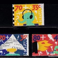 Sellos: HOLANDA 1993 BENEFICIENCIA PRO HUERFANOS NUEVOS ** (NMH) - LOTE - 86 - J8. Lote 179108751