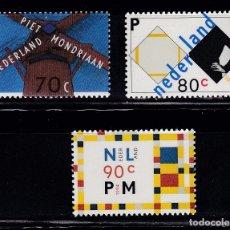 Sellos: HOLANDA 1994 CENTENARIO PIET MONDRIAAN NUEVOS ** (NMH) - LOTE - 86 - J10. Lote 179108958