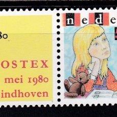 Sellos: HOLANDA 1980 DIA DEL SELLO NUEVOS ** (NMH) - LOTE - 86 - J12. Lote 179109185