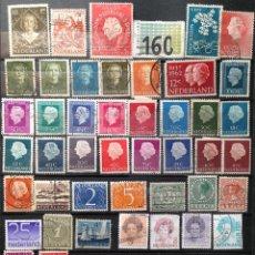 Sellos: HOLANDA HOLLAND NETHERLANDS NEDERLAND PAYS-BAS 63 SELLOS USADOS HO-01. Lote 180452458