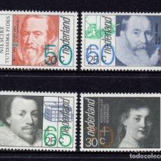 Sellos: HOLANDA 1198/201** - AÑO 1983 - CULTURA E HISTORIA HOLANDESA . Lote 181396572