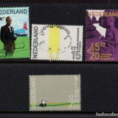 Sellos: HOLANDA 934/37** - AÑO 1971 - 60º ANIVERSARIO DEL PRINCIPE BERNHARD. Lote 181500711