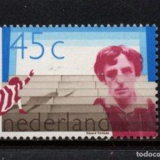 Sellos: HOLANDA 1098** - AÑO 1978 - CENTENARIO DEL NACIMIENTO DEL ACTOR EDOUARD RUTGER VERKADE. Lote 181500865