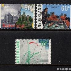 Sellos: HOLANDA 1246/48** - AÑO 1985 - ACONTECIMIENTOS DEL AÑO, AAMSTERDAM. Lote 181586992