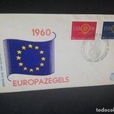 Sellos: SOBRE PRIMER DIA. EUROPA. NEDERLAND. 1960.. Lote 185929315
