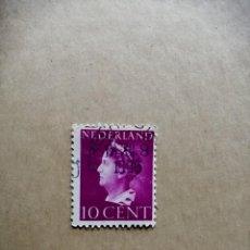 Sellos: NEDERLAND - 10 CENT - REINA WILHELMINA - AÑO 1940 . Lote 188779453