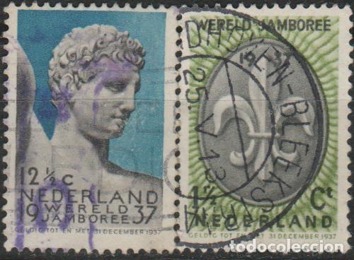 LOTE M-SELLOS HOLANDA 1937 (Sellos - Extranjero - Europa - Holanda)